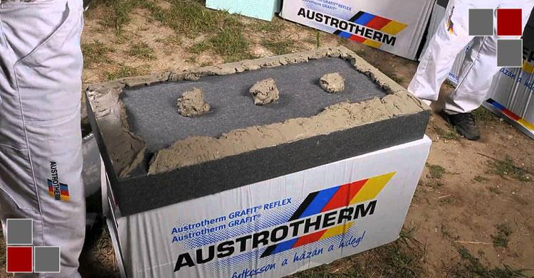 Austrotherm hőszigetelő anyag