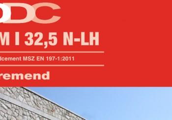 CEM I 32,N - Beremendi cement