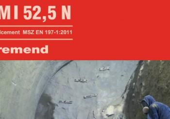 CEM I 52,N Beremendi cement