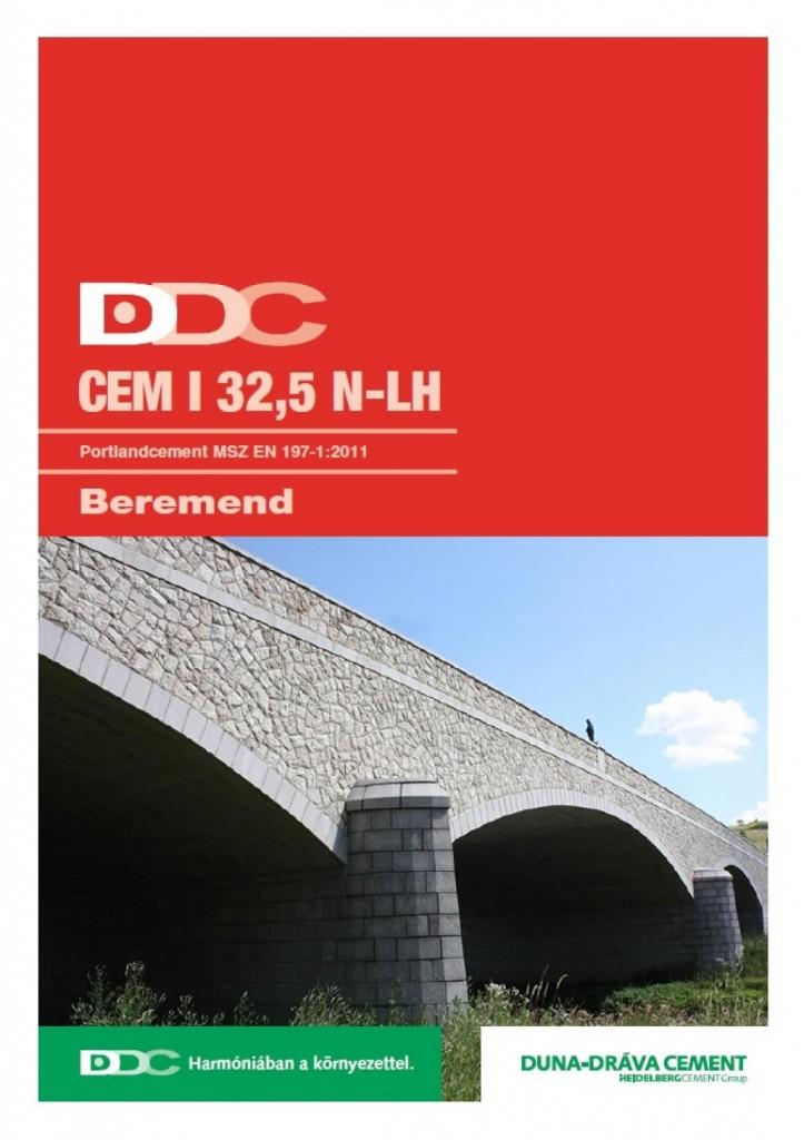 Portlandcement EN-197-1 CEM I 32,5 N-LH