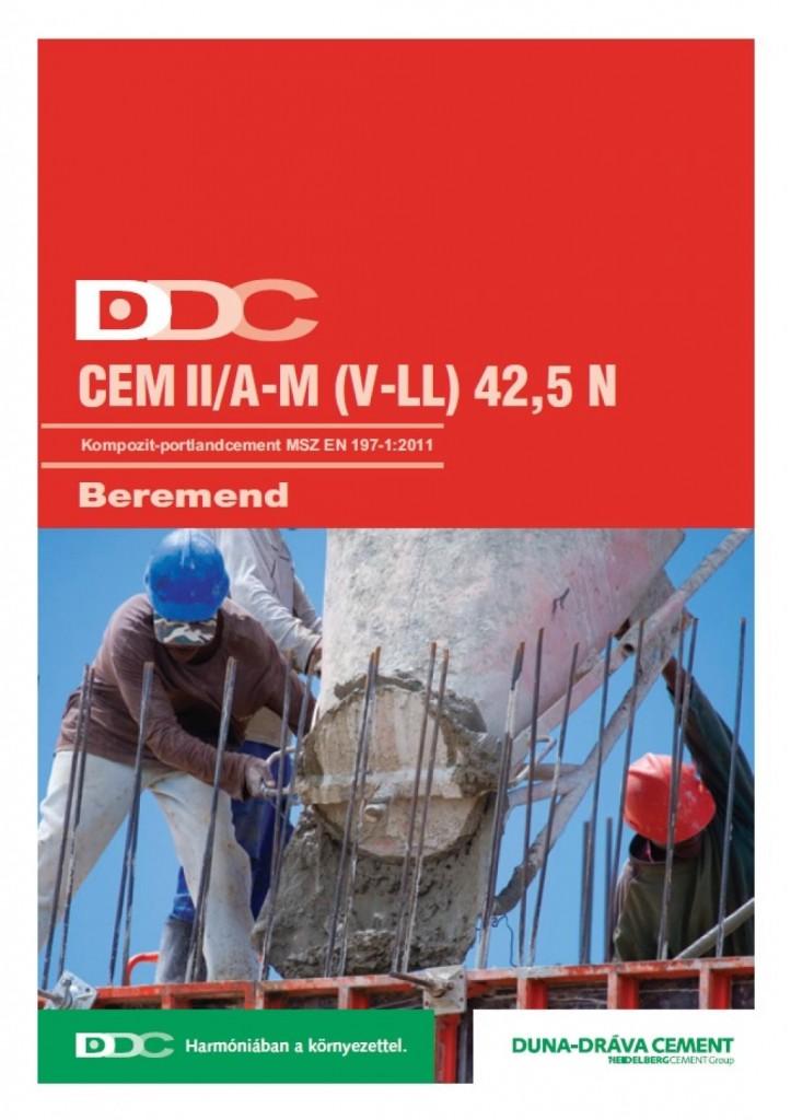 Kompozit-portlandcement EN 197-1 CEM II/A-M (V-LL) 42,5 N