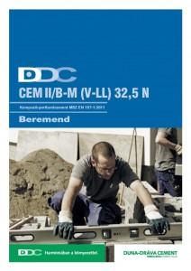 Kompozit-portlandcement EN 197-1 CEM II/B-M (V-LL) 32,5 N